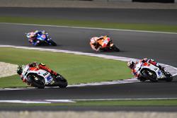 Andrea Iannone, Ducati Team, Ducati and Andrea Dovizioso, Ducati Team, Ducati