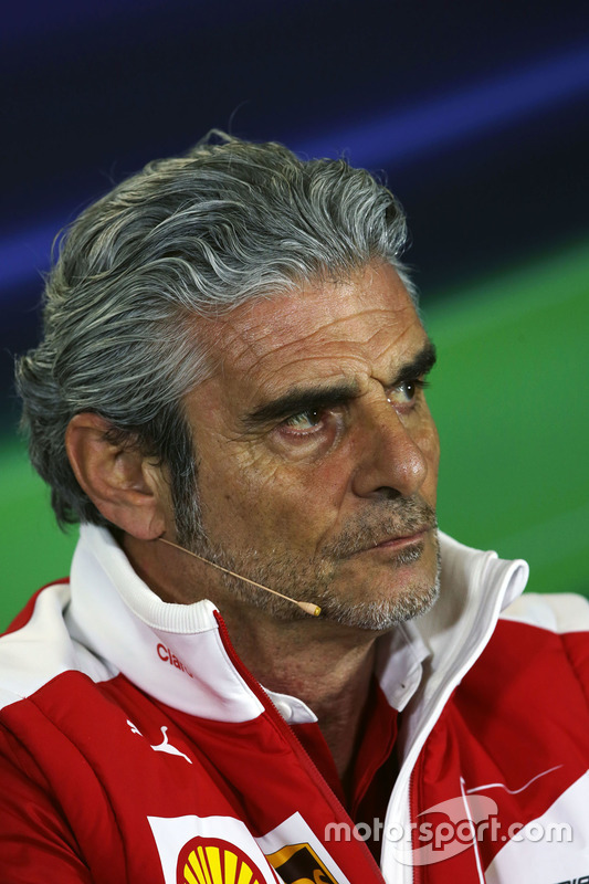 Maurizio Arrivabene, Ferrari in de FIA persconferentie