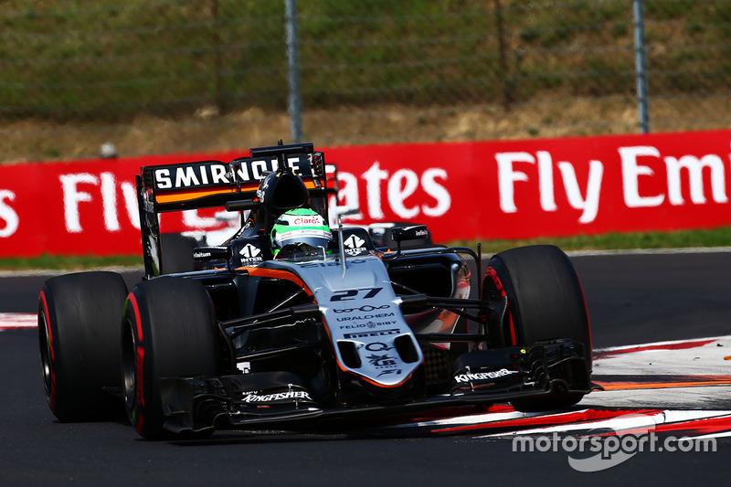 10. Nico Hülkenberg, Sahara Force India F1 VJM09