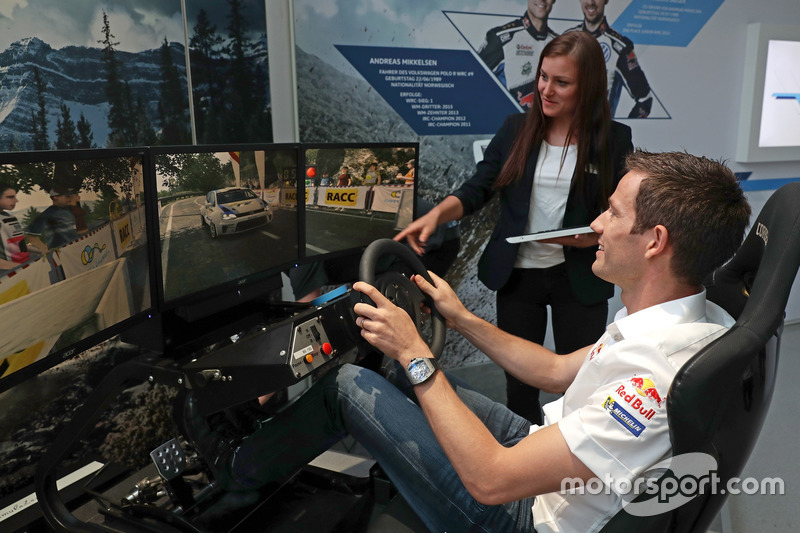Sébastien Ogier at the Opening event