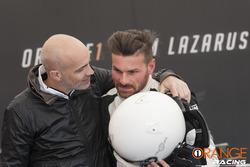Armando Donazzan, CEO di Orange1 Racing con Andrea Ceccato
