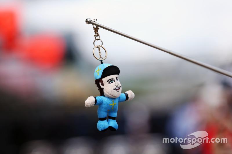 Juguete de Fernando Alonso, McLaren