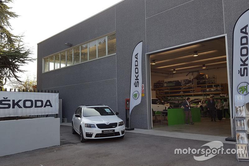 Nuova sede di Skoda Italia Motorsport