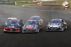 Sébastien Loeb, Team Peugeot Hansen, Mattias Ekström, EKS RX Audi S1, Petter Solberg, PSRX Citroën D