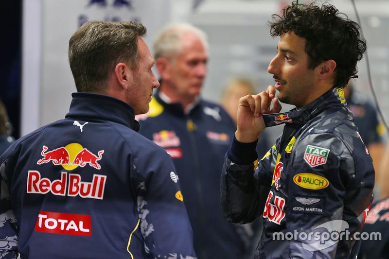 Resultado de imagen de Ricciardo Christian Horner
