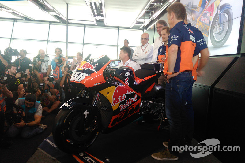 Conferenza stampa KTM