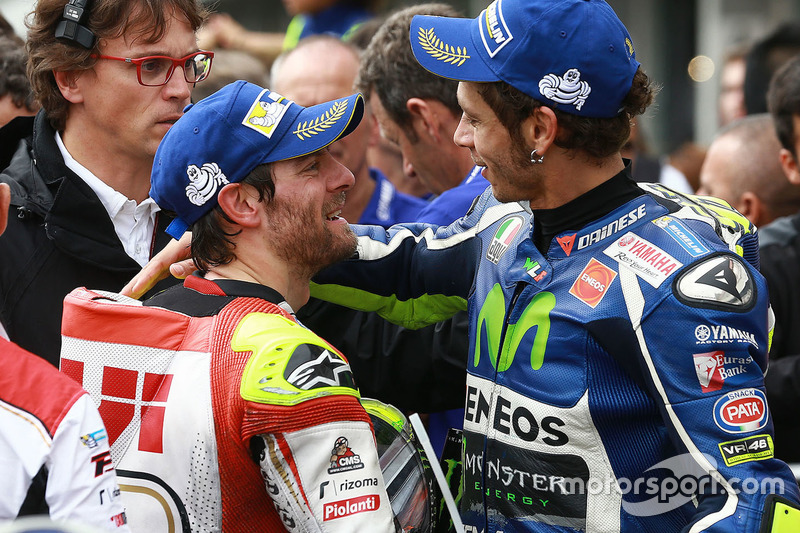 Valentino Rossi, Yamaha Factory Racing con Cal Crutchlow, Team LCR Honda