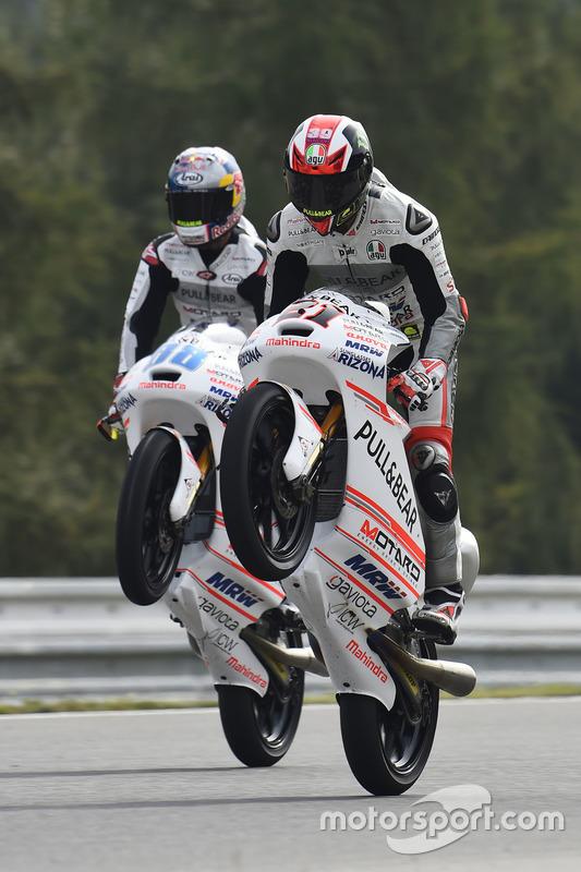 Francesco Bagnaia, Aspar Team Mahindra, Jorge Martin, Aspar Team Mahindra
