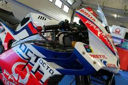 Neue Verkleidung am Bike von Danilo Petrucci, Pramac Racing