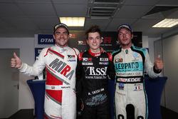 Race winner Attila Tassi, M1RA, Honda Civic TCR, second place Norbert Michelisz, M1RA, Honda Civic TCR, third place Jean-Karl Vernay, Leopard Racing Team WRT, Volkswagen Golf GTi TCR