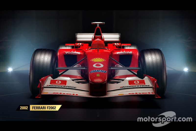 2002 Ferrari F2002