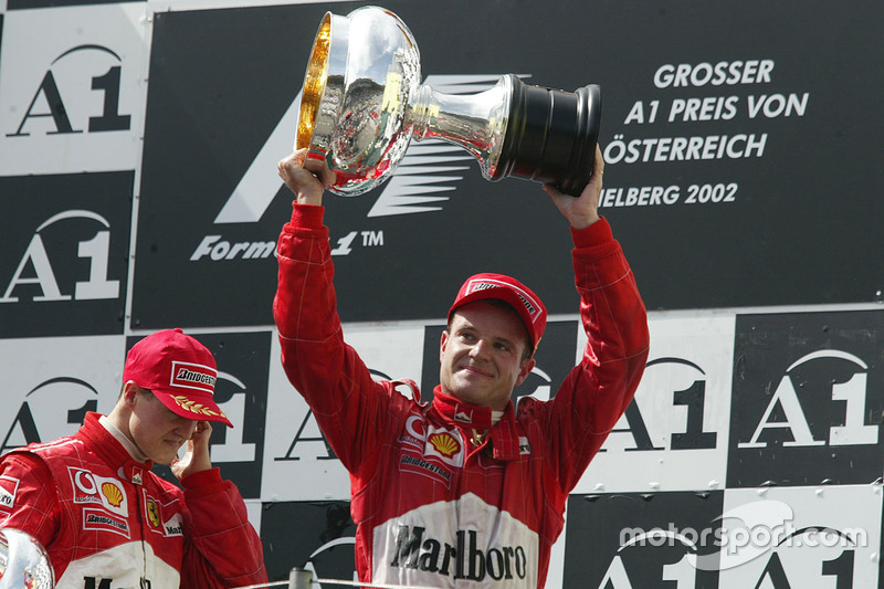8º Rubens Barrichello: 68 podios
