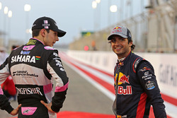 Esteban Ocon, Force India, Carlos Sainz Jr., Scuderia Toro Rosso