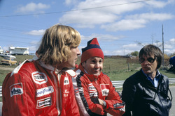 James Hunt, Teddy Mayer and Bernie Ecclestone