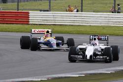 Paul di Resta Williams FW40, Karun Chandhok, Williams FW14B Renault