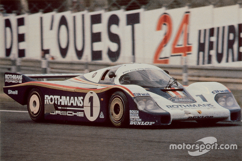 #1 Porsche Team Porsche 956: Jacky Ickx, Derek Bell en 1982