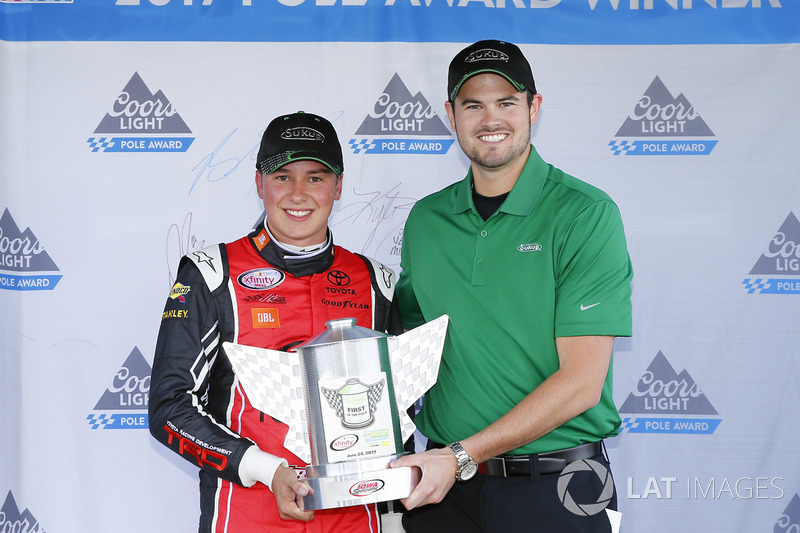 Polesitter Christopher Bell, Joe Gibbs Racing Toyota