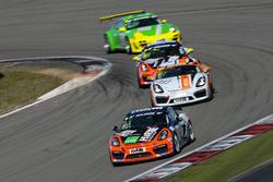Thorsten Jung, Marcel Hoppe, Dirk Vleugels, Porsche Cayman GT4 Clubsport