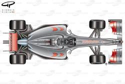 McLaren MP4-24 2009 top view