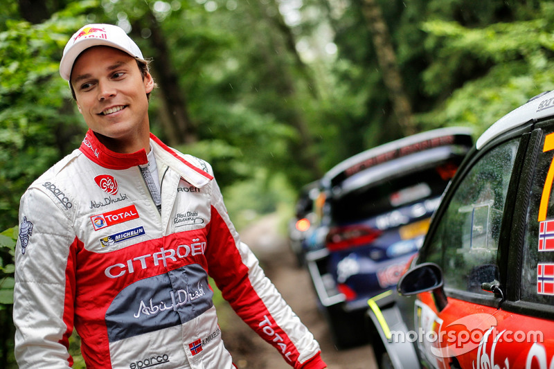 Andreas Mikkelsen, Citroën C3 WRC, Citroën World Rally Team