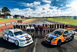 Warren Luff, Walkinshaw Racing, Alex Davison, Lucas Dumbrell Motorsport Holden, Ryan Walkinshaw, James Courtney, Walkinshaw Racing, Jack Perkins, Walkinshaw Racing