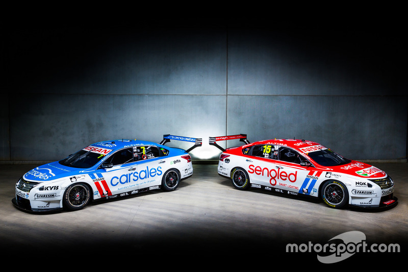 Nissan Motorsport – Todd Kelly/Jack le Brocq and Rick Kelly/David Wall