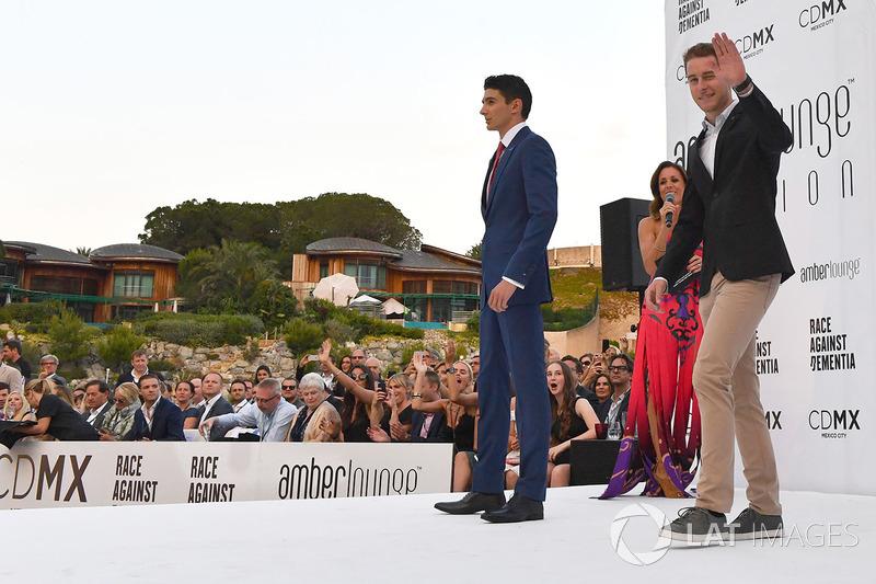 Эстебан Окон, Force India F1, и Стоффель Вандорн, McLaren