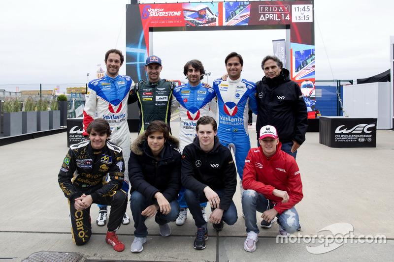 Bruno Senna, Mathias Lauda, Nicolas Prost, Nelson Piquet Jr., Nelson Piquet, Pietro Fittipaldi, Pedro Piquet, Harrison Newey, Mick Schumacher