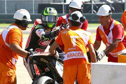 Cal Crutchlow, Team LCR Honda tras su caída