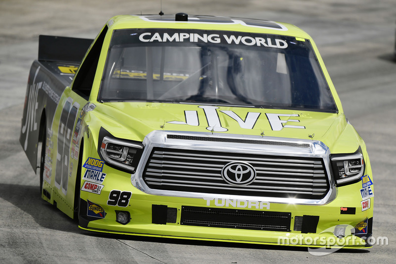 Grant Enfinger, ThorSport Racing, Toyota