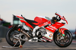 Bike of Julian Simon, Milwaukee Aprilia World Superbike Team