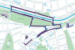 Streckenlayout: Santiago ePrix