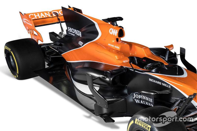 McLaren MCL32 arka kanat