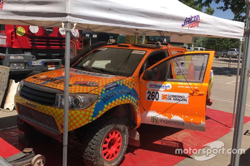 Jesús Calleja, Proton Racing 4WD