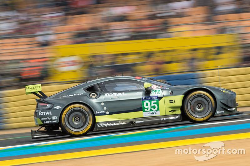 3. GTE-Pro: #95 Aston Martin Racing, Aston Martin Vantage