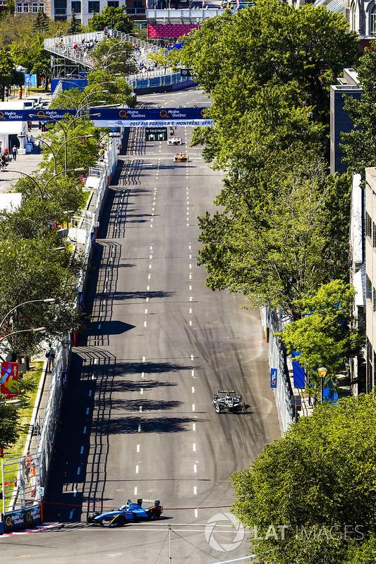 Nicolas Prost, Renault e.Dams, y Adam Carroll, Jaguar Racing