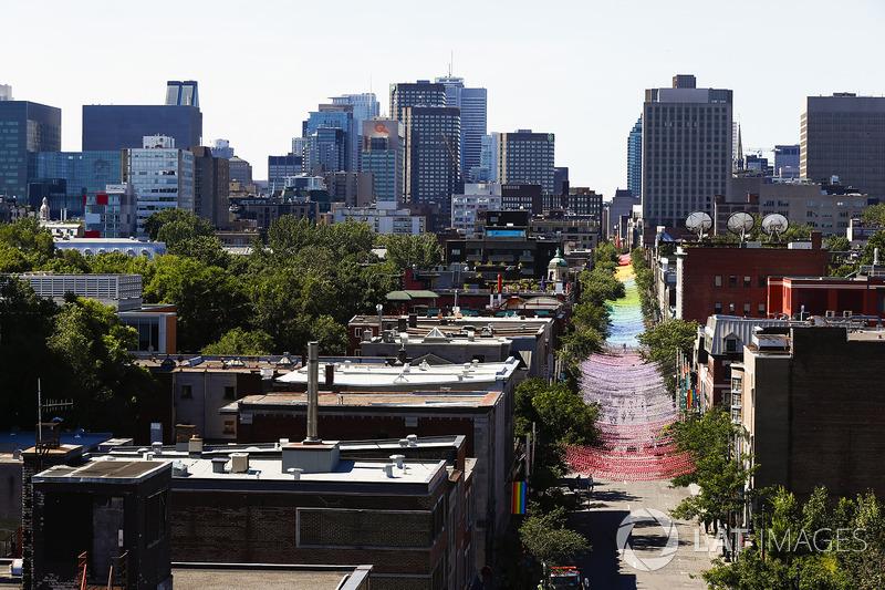 Aspectos de las calles Montreal