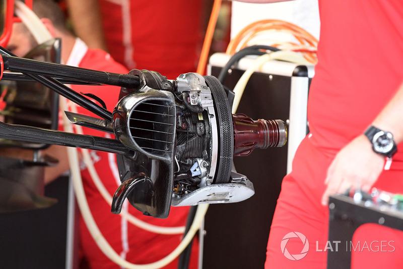 Ferrari SF70-H: Vorderradbremse