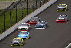 Paul Menard, Richard Childress Racing Chevrolet and Daniel Hemric, Richard Childress Racing Chevrolet
