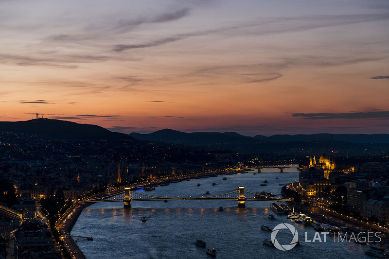 Vista de Budapest al atardecer