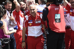 Davide Tardozzi, Ducati Team