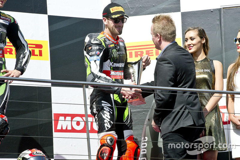 3. Tom Sykes, Kawasaki Racing