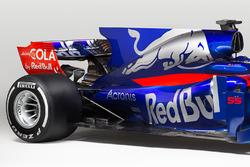 Detalle trasero del Toro Rosso STR12