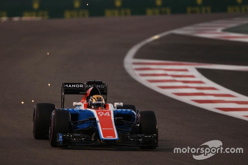 14e - Pascal Wehrlein (Manor Racing)