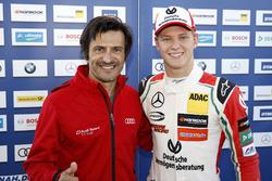 Mick Schumacher, Prema Powerteam, Dallara F317 - Mercedes-Benz with Stéphane Ortelli