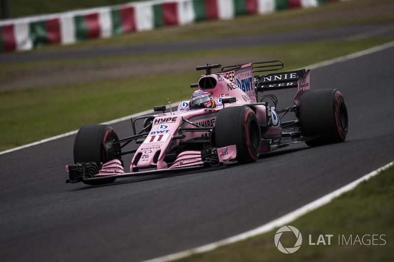 7. Sergio Perez, Sahara Force India VJM10