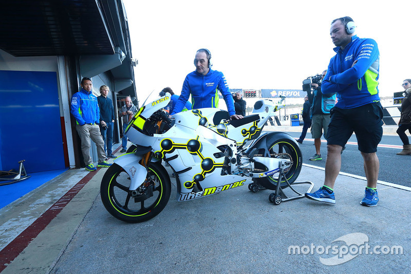 Bike of Andrea Iannone, Team Suzuki MotoGP