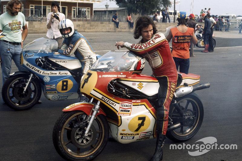 1977 - Barry Sheene, Suzuki