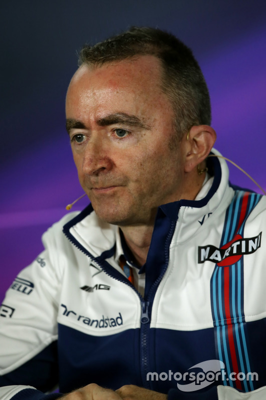 Paddy Lowe, Williams Technikchef bei der FIA Pressekonferenz