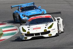 #488 Octane 126, Ferrari 488 GT3: Bjorn Grossmann, Fabio Leimer; #24 SPS automotive performance, Mercedes AMG GT3: Alexandre Coigny, Iradj Alexander David, Richard Feller